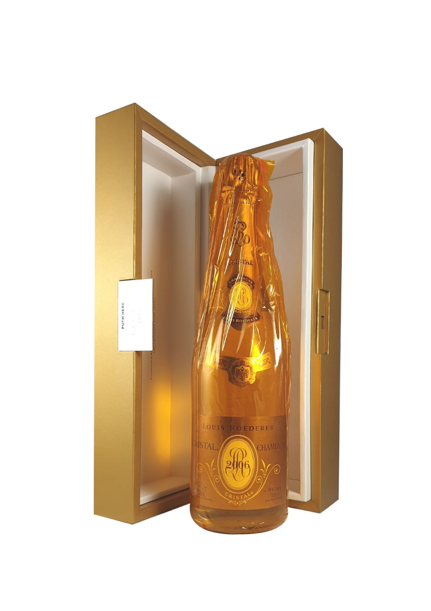 louis roederer cristal brut 2006 in gift box