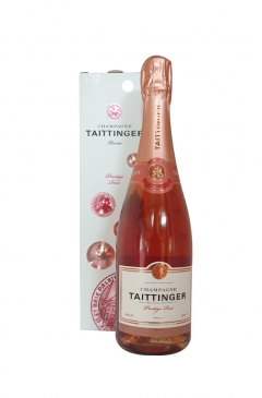 taittinger prestige brut rose 75cl gift box