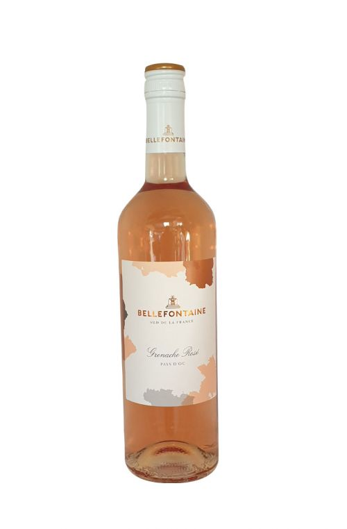 Grenache Rose IGP Pays d'Oc Bellefontaine 2019