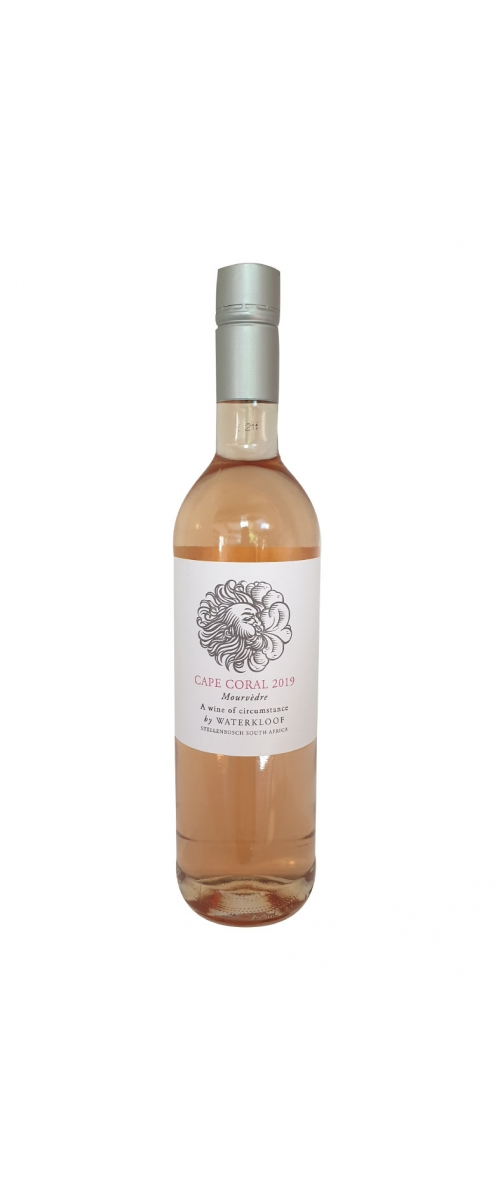 Cape Coral Mourvedre Rose Waterkloof 2019